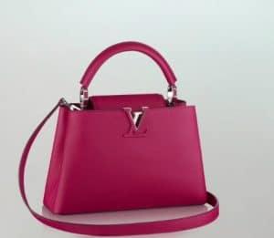 ff32d80e4bd9 Louis Vuitton Capucines Fuschia BB Bag - Summer 2014