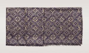 Louis Vuitton Purple Monogram Dentelle Shawl