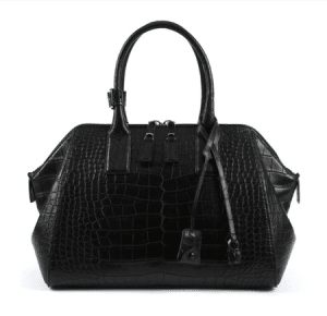 Marc Jacobs Black Alligator Incognito Medium Bag