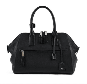 Marc Jacobs Black Textured Leather Incognito Medium Bag