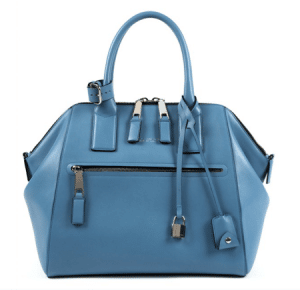Marc Jacobs Light Blue Smooth Leather Incognito Large Bag