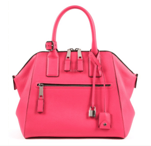 Marc Jacobs Peony Textured Leather Incognito Large Bag