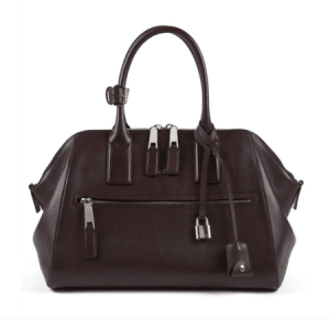 Marc Jacobs Plum Smooth Leather Incognito Medium Bag