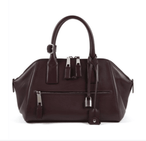 Marc Jacobs Plum Smooth Leather Incognito Small Bag