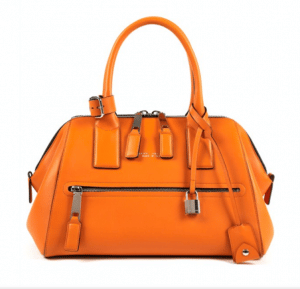 Marc Jacobs Tangerine Smooth Leather Incognito Small Bag