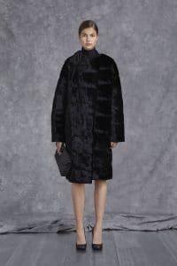 Mulberry Black Folded Clutch Bag - Pre-Fall 2014