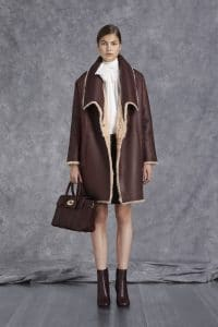 Mulberry Oxblood Bayswater Bag - Pre-Fall 2014