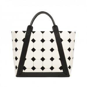Balenciaga Geometric Shopping Tote Bag - Fall Winter 2014
