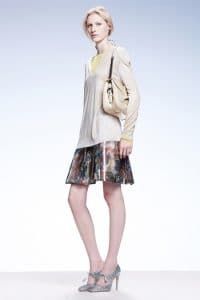 Bottega Veneta Beige Shoulder Bag - Resort 2015