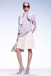 Bottega Veneta Beige Top Handle Bag - Resort 2015