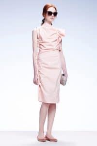 Bottega Veneta Ivory Knot Clutch Bag - Resort 2015