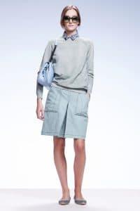 Bottega Veneta Light Blue Shoulder Bag - Resort 2015