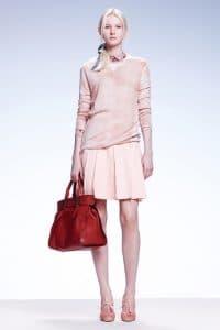 Bottega Veneta Red Tote Bag - Resort 2015