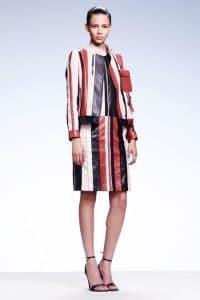 Bottega Veneta Red/White Shoulder Bag - Resort 2015