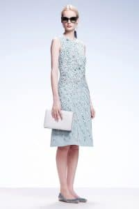 Bottega Veneta White Intrecciato Clutch Bag - Resort 2015