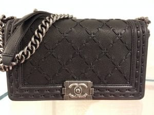 Chanel Large Stitch Boy Bag - Prefall 2014
