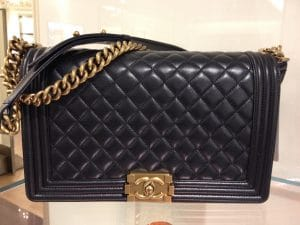 Chanel Medium Boy Bag with Gold Hardware - Prefall 2014