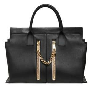 Chloe Black Cate Tote Bag with Zippers - Spring 2014 - 2