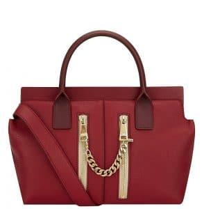 Chloe Red Cate Tote Bag - Spring 2014