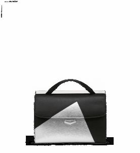 Fendi Black/Silver Demi Jour Bag