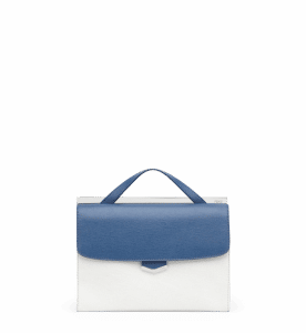 Fendi Cobalt Blue/Milk Demi Jour Bag
