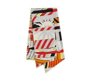 Hermes Astrologie Nouvelle Maxi Twilly Scarf