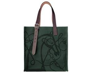 Hermes Coup de Fouet Etriviere Shopping Bag
