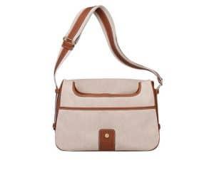 Hermes Off-White/Beige Bourlingue Bag