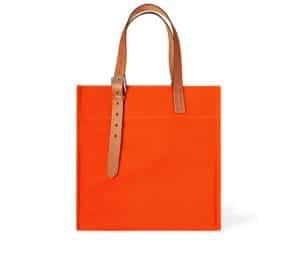 Hermes Orange Etriviere Shopping Bag