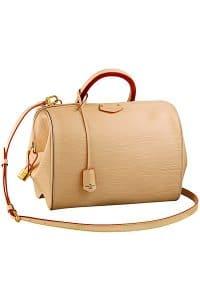Louis Vuitton Beige Epi Doc BB Bag - Fall 2014