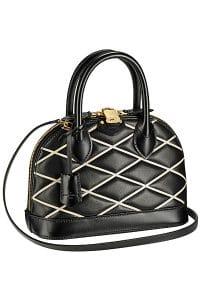 Louis Vuitton Black Malletage Alma BB Bag - Fall 2014 - 2