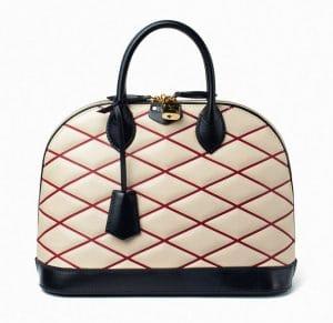Louis Vuitton Natural Malletage Alma Bag - Fall 2014