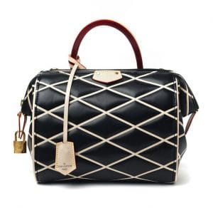 Louis Vuitton Black Malletage Doc BB Bag - Fall 2014