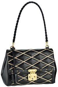 Louis Vuitton Black Malletage Pochette Flap Bag - Fall 2014 - 2