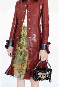 Louis Vuitton Black Losange Print Petite Malle Bag - Cruise 2015
