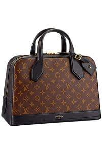 Louis Vuitton Black Dora Monogram MM Bag - Fall 2014