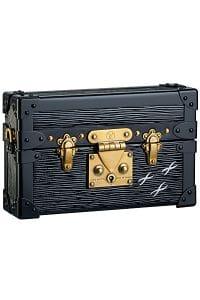 Louis Vuitton Black Petite-Malle Bag - Fall 2014
