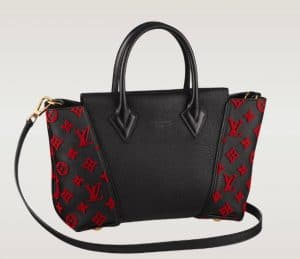 Louis Vuitton Black with Red W BB Bag - Spring 2014