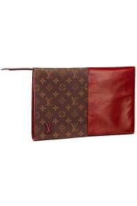 Louis Vuitton Burgundy Monogram Canvas Flip Flap Bag - Fall 2014