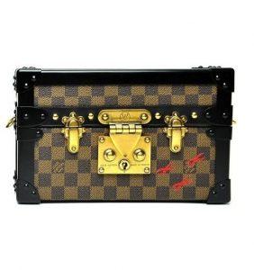 Louis Vuitton Damier Ebene Petite Malle Bag - Fall 2014