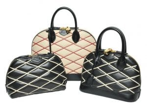 Louis Vuitton Losange Alma and Pouch Bags - Fall 2014