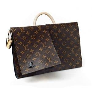 Louis Vuitton Monogram Canvas Flip Flap Bag - Fall 2014