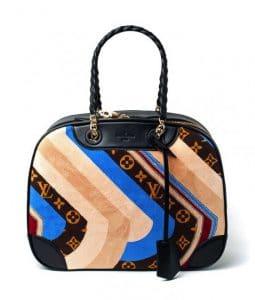 Louis Vuitton Multicolor Monogram Canvas Suede Bowling Bag - Fall 2014