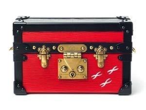Louis Vuitton Red Epi Petite Malle Bag - Fall 2014
