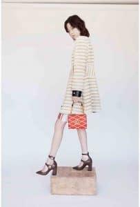 Louis Vuitton Red Epi Twist Malletage Bag 2 - Cruise 2015