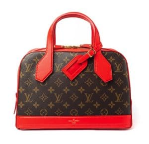 Louis Vuitton Red Dora Monogram PM Bag - Fall 2014