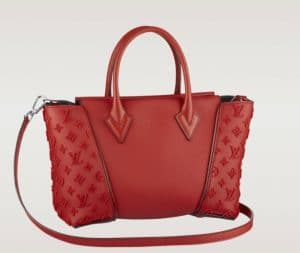 Louis Vuitton Red W BB Bag - Spring 2014