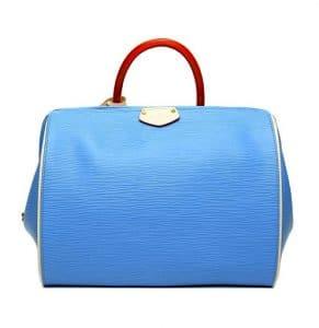 Louis Vuitton Sky Blue Doc PM Bag