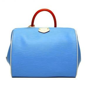 Louis Vuitton Sky Blue Doc Bag - Fall 2014