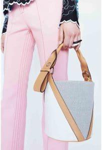 Louis Vuitton V Bucket Bag - Cruise 2015